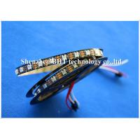 DC12V Addressable Rgb Led Strip , Led Rgb Tape Light 5050 SMD 3 Led External IC Ws2811