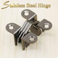 Buy cheap 39*13*17.5 mm Stainless Steel Concealed Hinges / Heavy Duty Concealed Hinges product