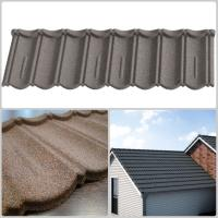 China Light weight Colored Stone Coated Roof Tiles with Soncap Certificate on sale