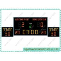 Buy cheap Electronic Waterpolo Scoreboard With Count Shot Clock In Swiming Pool Field product