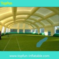 China Durable Dome Inflatable Event Tent , Huge Tennis Field Inflytable Shelter on sale