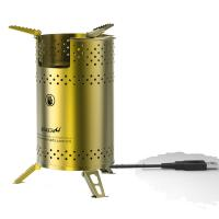 China wood stove camping stove with USB blower fanned blower biomass stove pellet stove on sale