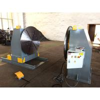 Buy cheap Head / Tail Stock Pipe Welding Positioners , Welding Turn Table product