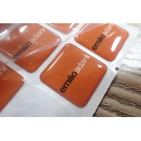 Buy cheap Custom Epoxy Resin Clear Crystal Dome Sticker / 3D Printing Epoxy Resin Label product