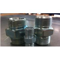 Hex quot npt stainless steel nipple reducing pipe
