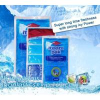 Buy cheap Gel Ice wine bag for keeping your food fresh and cool, Ice Bag Wine Cooler Bag, gel ice cooler box for keeping fresh of product
