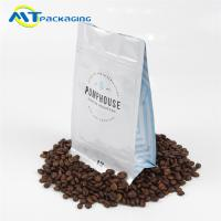 Buy cheap Multi Color Flat Bottom Pouch Long Storage Time For Nut Packaging product