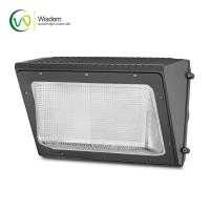 Buy cheap Glass LED Wall Pack Lights 50W 5000K 8210 Lumens UL DLC 4.2 AC 120 -277V IP65 product