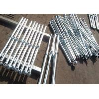 Buy cheap High Precision Industrial Steel Handrails , Outdoor Deck Handrails from wholesalers