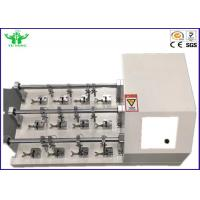 Buy cheap 22.5°  Footwear Testing Equipment Leather Bending / Flexural Resistance Tester product