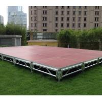 Buy cheap 6082 Aluminum Movable Stage Platform 18mm Thinkness Anti Slip And Fireproof Plywood For event on water product