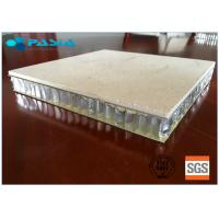 Buy cheap Marble Stone Honeycomb Roof Panels 1200mm Width / Length Sound Insulation product
