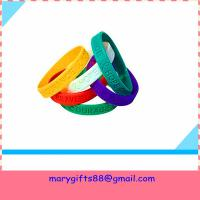 Buy cheap wholesale gift fashion silicone wristband bangles product