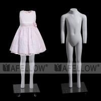 Buy cheap Pop fashion product high grade kid ghost mannequin no head for display product