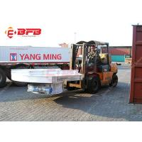 Buy cheap Heavy Duty Material Handling Solutions Cross Rail Transfer Automated Electric Turntable product