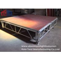 Strong Heavy Duty Portable Stage/ Folding Stage 6082-T6 Aluminum Alloy  Frame