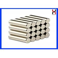 Buy cheap N35 - N52 Cylinder Shaped Magnet Customized Small Diameter Rod High Performance product