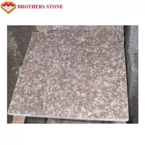 Buy cheap Custom Peach Flower Red G687 Granite Tiles For Bathroom Floor product