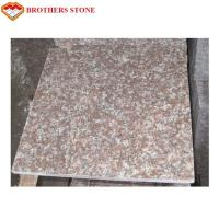Buy cheap G687 Peach Flower Red Granite Stone Slabs For Bathroom Wall Tiles product