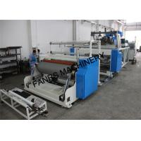 Buy cheap 1000 mm Stretch Film Jumbo Roll Extrusion Machine With Two Screw For 2 Layer product