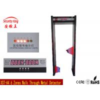 Electronic  Location LED Light In Front And Back Walk Through Metal Detector Door Security Devices XST-A4