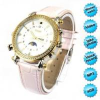 Buy cheap Exquisite HD MP3 Watch Camera For Girls 4GB product