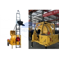 Buy cheap Commercial Transit JZR350T Diesel Concrete Mixer Machine Stable Performance Durable Diesel Powered Concrete Mixer product