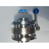 Buy cheap Stainless Steel Food Grade Manual Welded Butterfly Valve (ACE-DF-1A) product