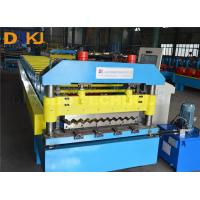 Buy cheap Roof Sheet Making Machine  Automatic Corrugated Roof Roll Forming Machine product