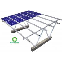 Buy cheap Solar Power Carport Structure Solar Panel Mounting Brackets Excellent Endurance product