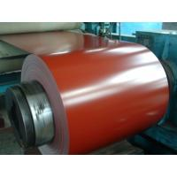 Buy cheap Red Roofing Color Coated Galvanized Steel Coil Corrosion Resistance from Wholesalers