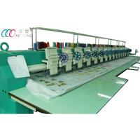 Buy cheap 15 head single sequin computerized flat embroidery machine for clothing Robes product