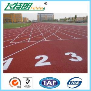 Elastic Running Track Surfaces PU Rubber Floor Covering Anti Slip Polyurethaning Floors