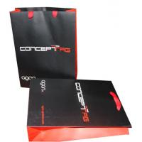 Buy cheap Printed Polythene Carrier Bags Matt Coated , Rope Handle Carrier Bags product