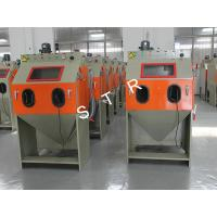 Buy cheap Industrial Media Blasting Equipment Dustless Burrs Residue Removing Support product