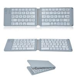 China Wireless Folding Bluetooth Keyboard , Ultra Slim Bluetooth Keyboard 78 Keys on sale