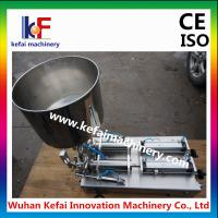 Quality fully automatic cosmetic/liquid/oil/water/paste filling machine for sale