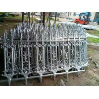 Buy cheap Hot Dipped Galvanized Ornamental Cast Iron Fence Barrier Panels product