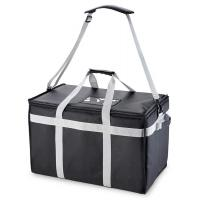 Buy cheap Food Delivery Insulated Food Carrier Bag / Drink Cooler Bag With Adjustable Divider product