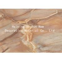 Buy cheap Marble Adhesive Vinyl Hot Stamping Foil Decorative Wall Film 20 - 126cm Width product