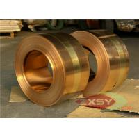 Buy cheap Insulated Casting Oxygen Copper Foil Roll , Thin Copper Sheet 0.005mm - 1.2mm product