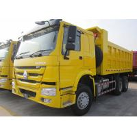 Buy cheap Low Energy Consumption 10 Wheel Dump Truck Euro 2 336HP Carrying 30 Tons Cargo product