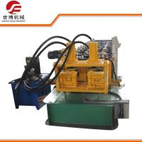 Buy cheap Hydraulic cutting Steel Profile Metal C Purlins Roll forming Machine with two models product