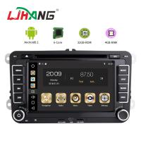 Buy cheap 7 Inch Touch Screen Volkswagen DVD Player Android 8.1 Car With Wifi BT GPS AUX product