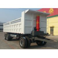 Buy cheap Trailer Dump Truck 3 Axles 60Tons 11m for Mining and Construction business product