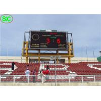 Buy cheap High Definition Waterproof P10 Outdoor Led Display Stadium With Scoring System product