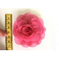 Buy cheap Rose Design Handmade Fabric Corsage Flower For UK High Street Shop Brand product