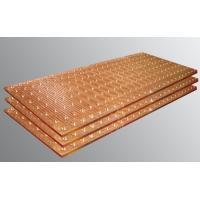 Buy cheap 1 Inch Thick Steel Copper Mould Plate , Large Stamped Copper Sheets For Roofing product