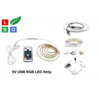 Buy cheap CRI >80 LED Commercial Lights USB Plug Rgb Flexible LED Strip For TV Background product