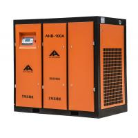 China Best ac Frequency conversion 8bar belt driven Screw Air Compressor price list on sale